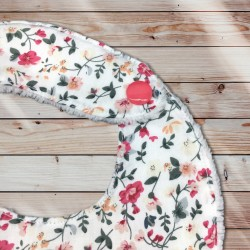 Bavoir bandana little flowers