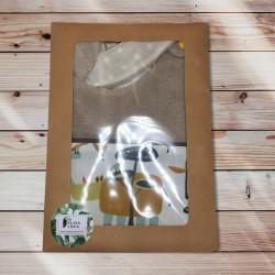 Bavoir jungle packaging