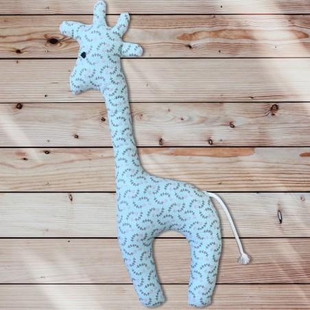 Girafe liberty vert d'eau