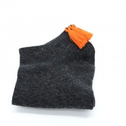 Gris anthracite/Orange fluo