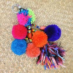 Porte clés BRAVA multicolore
