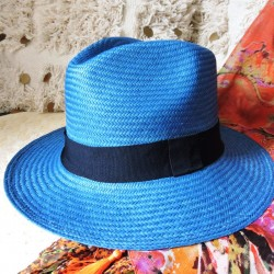AMERICA chapeau bleu pétrole