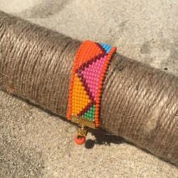 bracelet Bilbao for woman orange