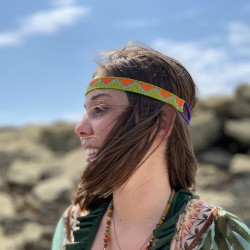 Headband caraïbes triangulaire