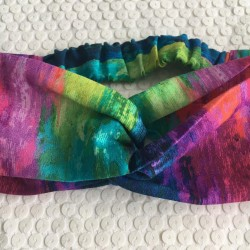 bandeau tie and dye